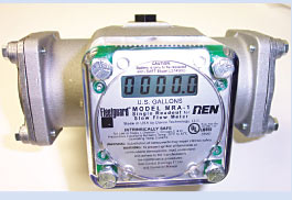 slow flow meter made by Ren