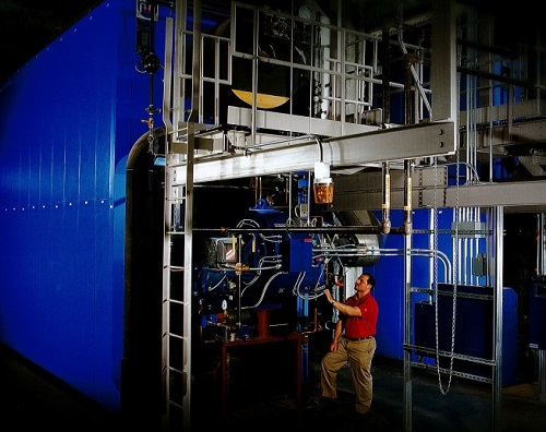 large industrial boiler boiler