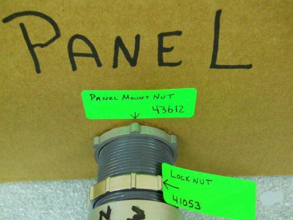 Panel Nut Mount of Lock Nut for the Axelson ESP